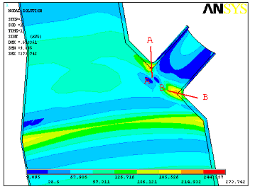 ansys应用实例-放空洗涤塔锥壳开孔分析