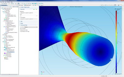 Particle Tracing with the AC/DC Module