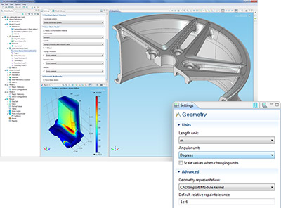 CAD Import Module
