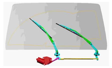 ADAMS在汽车机构运动学分析中的应用高清图片