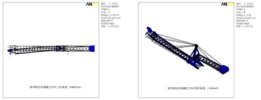 基于ansys的长悬臂斗轮堆取料机俯仰钢结构