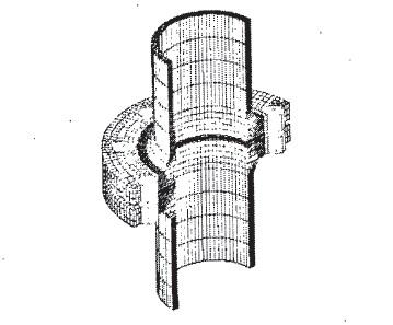 基于ABAQUS螺栓接头的接触有限元分析