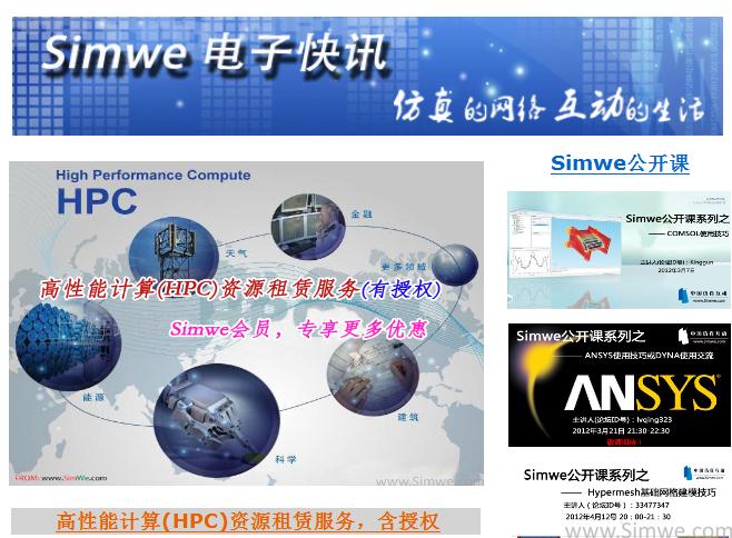 Simwe电子快讯2013年第一季