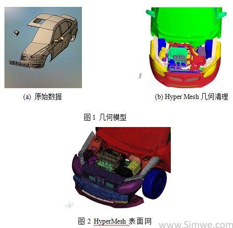 手工制作汽车模型网格