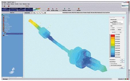LMS Samtech SAMCEF_Rotors 专业的转子动力学分析解决方案