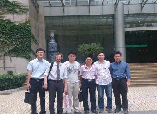 中仿科技与中科院上海硅酸盐所交流
