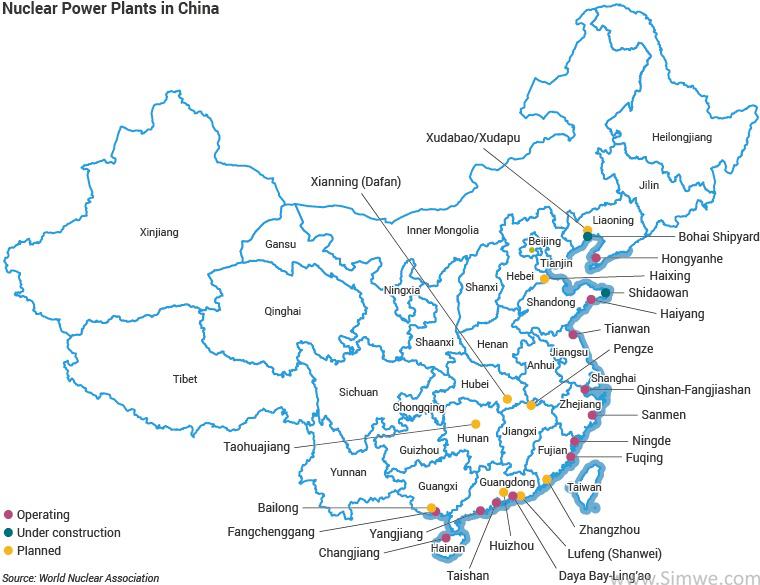 科普干货分享:2020年中国的核电业现状